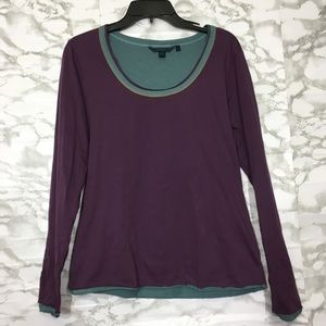 Boden layered long sleeve top